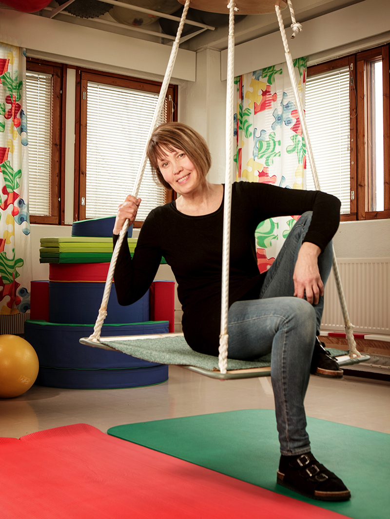 Anna-Maria Seppänen toimii toimintaterapeuttina Lasten terapia Palikoissa